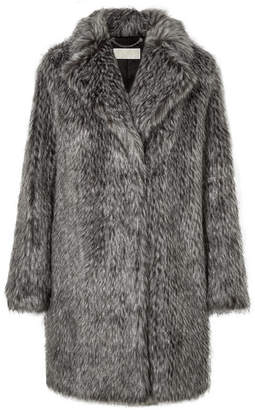 MICHAEL Michael Kors Faux Fur Coat - Gray