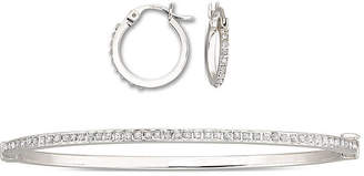 JCPenney FINE JEWELRY Diamond Fascination Earring & Bracelet Set