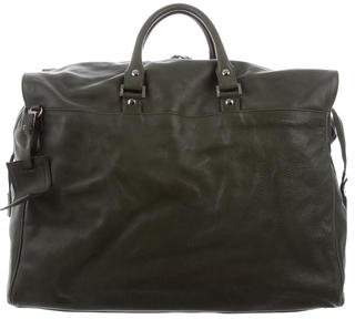 Salvatore Ferragamo Large Leather Duffle