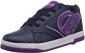 Heelys Girl's Propel Terry Running Shoes, Navy/Grape/Terry Logo