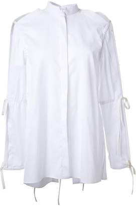 Dion Lee tie sleeve shirt