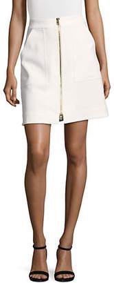 Diane von Furstenberg Patch Pocket Mini Skirt