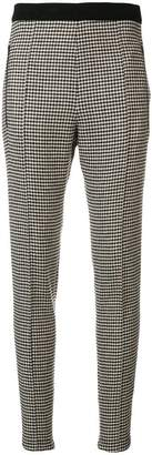 Ermanno Scervino houndstooth print skinny trousers