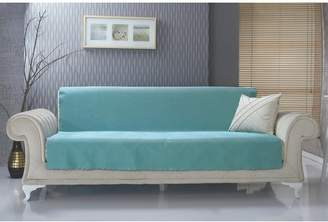 Charlton Home Diamond Box Cushion Sofa Slipcover