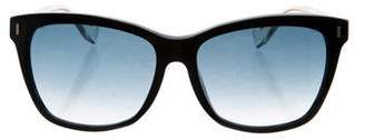 Fendi Oversize Logo Sunglasses