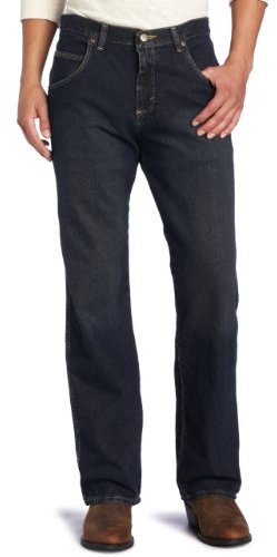 Wrangler Men's Rugged Wear Relaxed Straight Fit Jean
