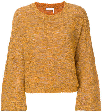 See by Chloe balloon sleeved sweater