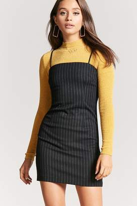 Forever 21 Pinstriped Mini Dress
