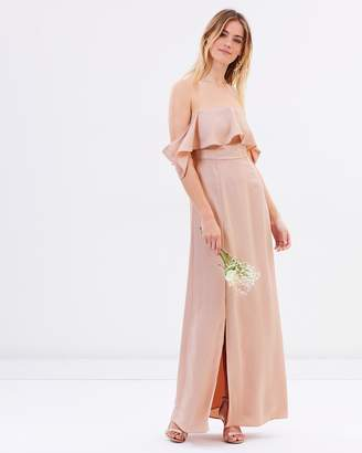 Atmos & Here ICONIC EXCLUSIVE - Aurora Off Shoulder Maxi Dress