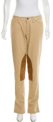 Ralph Lauren Mid-Rise Flared Pants