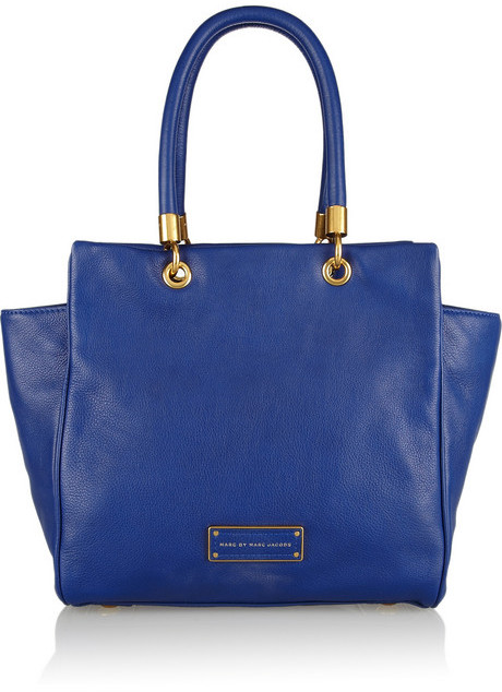 Marc by Marc Jacobs Too Hot To Handle Bentley leather trapeze bag