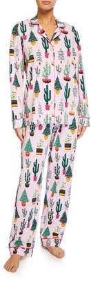 BedHead Christmas Cactus Classic Pajama Set