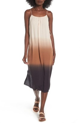 Women's Lush Dip Dye Gauze Dress $49 thestylecure.com