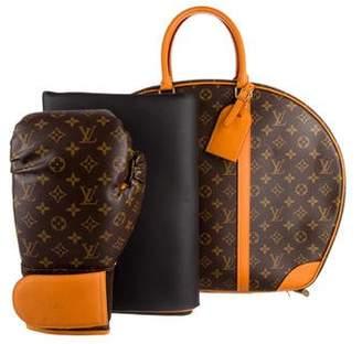 Louis Vuitton Iconoclasts Karl Lagerfeld Monogram Boxing Set