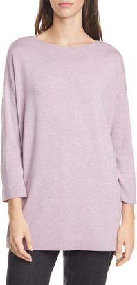 Eileen Fisher Bateau Neck Sweater