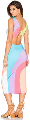 Mara Hoffman ミディリボンバックドレス