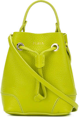 Furla mini Stacy bucket bag