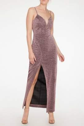 Mystic Lurex Maxi Dress