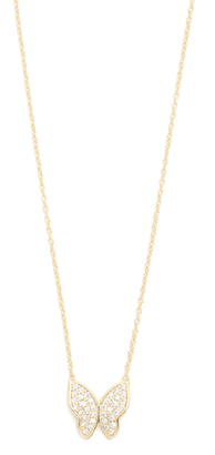 Shashi Butterfly Necklace $65 thestylecure.com