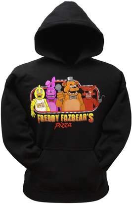Freddy Five Night's At Freddy's Five Nights At Freddy's Fazebear's Pizza Boys Hoodie (SM, BLK)