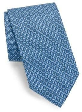 Salvatore Ferragamo Two Tone Silk Tie