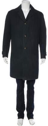 Luciano Barbera Woven Layered Coat