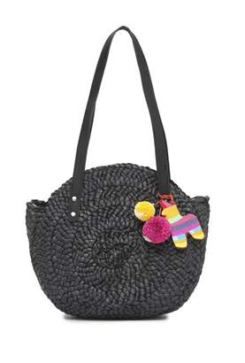 Lucky Brand Baria Woven Tote