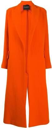 Cavallini Erika oversized single-breasted coat