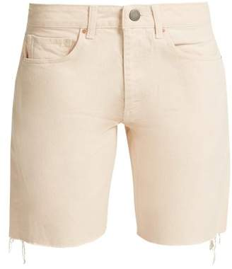 Raey Cut Off Denim Shorts - Womens - Nude
