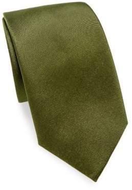 Salvatore Ferragamo Yacht Silk Tie