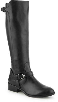 Lauren Ralph Lauren Margarite Wide Calf Riding Boot - Women's