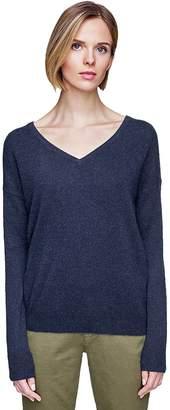 White + Warren Essential V-Neck Sweater - Women's