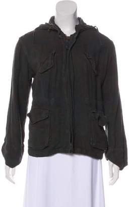 Etoile Isabel Marant Linen Zip-Up Jacket