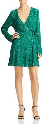 Show Me Your Mumu Phyllis Embellished Wrap Dress