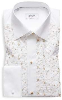 Eton Contemporary-Fit Gold Detail Formal Shirt