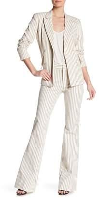 Derek Lam 10 Crosby Striped Flare Trousers
