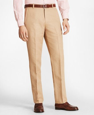 Brooks Brothers Clark Fit Linen and Cotton Chinos