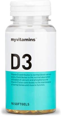 Myvitamins Vitamin D3 - 3 Months (90 Softgels)
