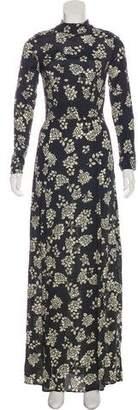 Flynn Skye Floral Print Maxi Dress