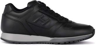 Hogan H321 Black Leather Sneaker