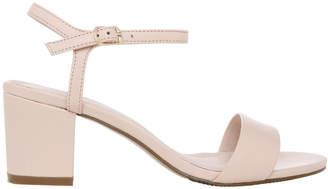 Basque Romina Nude Leather Sandal