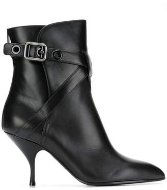 Bottega Veneta pointed toe ankle boots