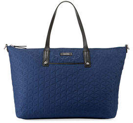 Iconic American Designer Nylon East-West Tote Bag