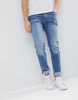Jack and Jones Intelligence Jeans In Slim Fit Organic Cotton