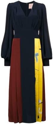 Roksanda pleated midi dress