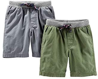 Carter's Simple Joys by Baby Boys' Toddler 2-Pack Shorts