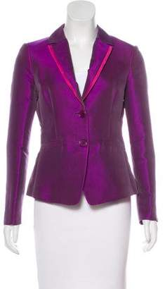 Etro Iridescent Button-Up Blazer