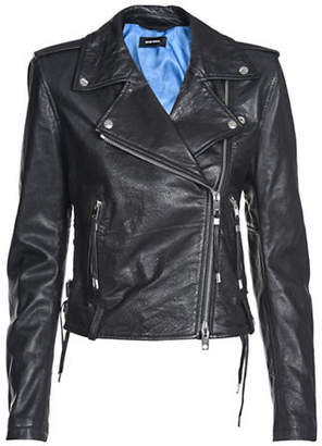 Diesel L-Taras Leather Jacket