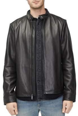 UGG Men's Orlando Leather Racer Jacket
