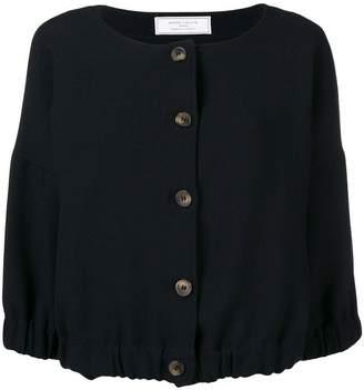 Societe Anonyme elastic top jacket